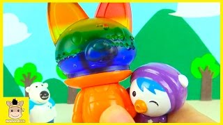 Minions Pororo DIY How To Make Jelly Pudding Ice Cream Toys For Kids | MariAndKids Toys