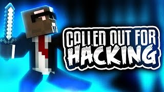 CALLED OUT FOR HACKING!! ( Minecraft Crazy Walls w/ Graser10 & TheCampingRusher )