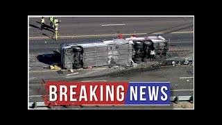New Mexico passenger bus crash leaves 3 dead, dozens injured