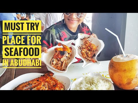 Abudhabi Fish Market | Mina Fish Market | Must Try Seafood.Where To Eat In Abu Dhabi. Part 2