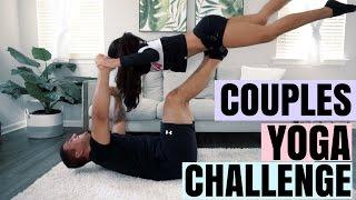 COUPLES YOGA CHALLENGE!