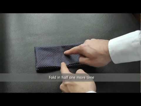 Ways To Fold Pocket Square