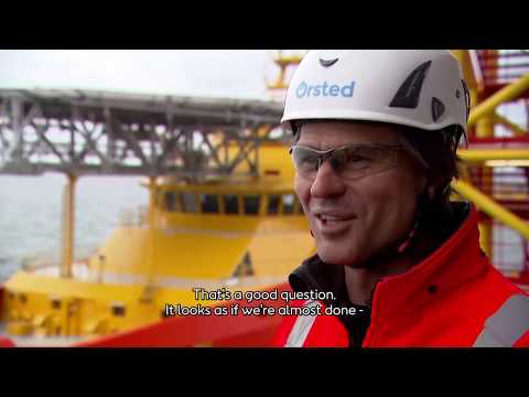 Building the world's largest offshore wind farm – Stefan Hoonings – Nieuwsuur (English Subtitles)