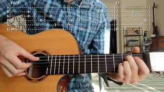 How to play Things Behind The Sun by Nick Drake