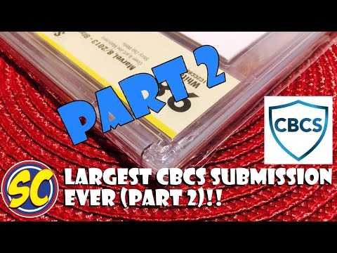 My Largest CBCS (not CGC) Submission (part 2): Comic Book Speculation and Investing!!