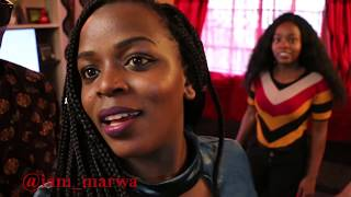 Kenyan girls Shows😋😋😋 me Dancing Skills ft. Sharon Waniz || iam_marwa