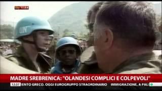 Srebrenica, Sky TG24
