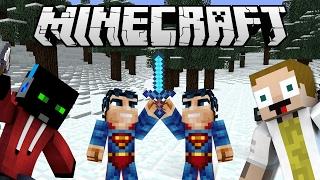 [GEJMR] Minecraft Minihry - UHC Run - Zimní boj proti Supermanům