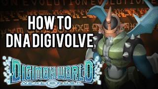 Digimon World Next Order | How to DNA Digivolve