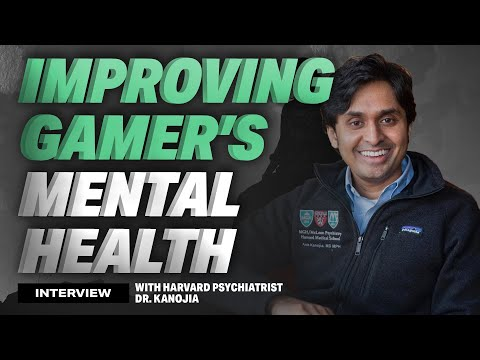 Improving Gamer's Mental Health ft. Harvard Dr. Alok Kanojia
