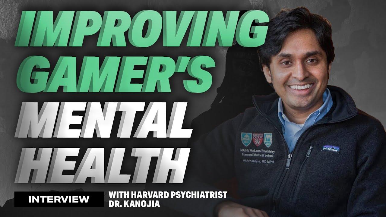 Download Improving Gamer's Mental Health ft. Harvard Dr. Alok Kanojia