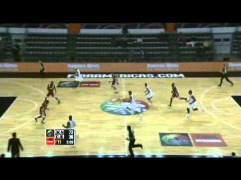 Dominican Republic Vs. Cuba  / 2011 FIBA Americas Championship Round 1