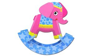 How To Make a Cute Funny Baby Elephant. Toys for Kids. DIY Kids Crafts