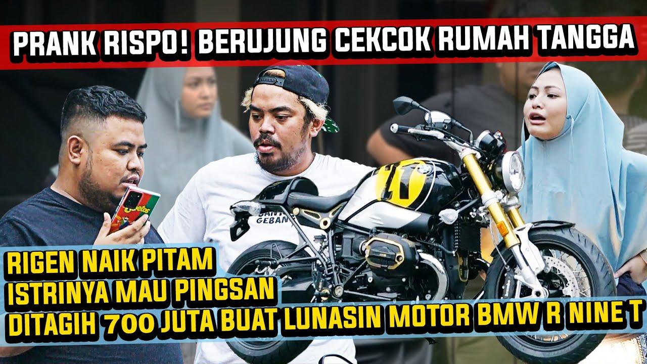 RIGEN DIPRANK RISPO! SURUH LUNASIN MOTOR BMW R NINE T SPEZIAL SAMPE ISTRINYA MAU PINGSAN