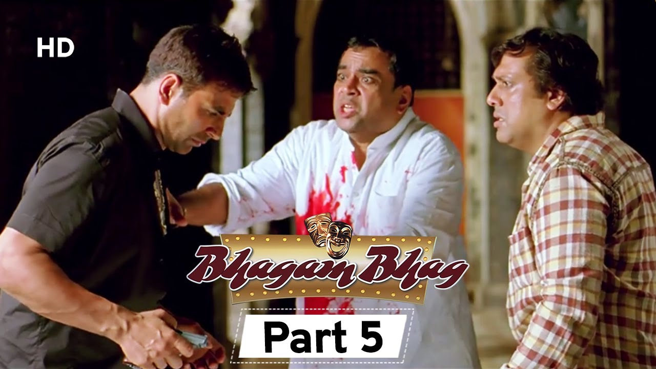 Download Bhagam Bhag 2006 (HD) - Part 5 - Superhit Comedy Movie - Akshay Kumar -  Paresh Rawal - Rajpal Yadav