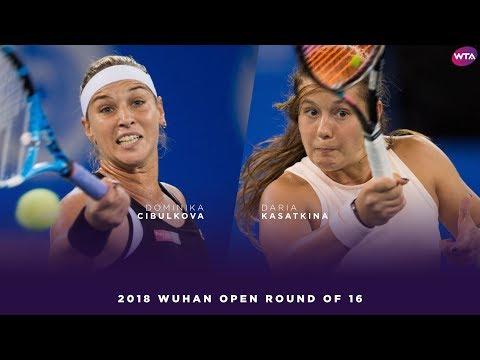 Dominika Cibulkova vs. Daria Kasatkina | 2018 Wuhan Open Round of 16 | WTA Highlights 武汉网球公开赛