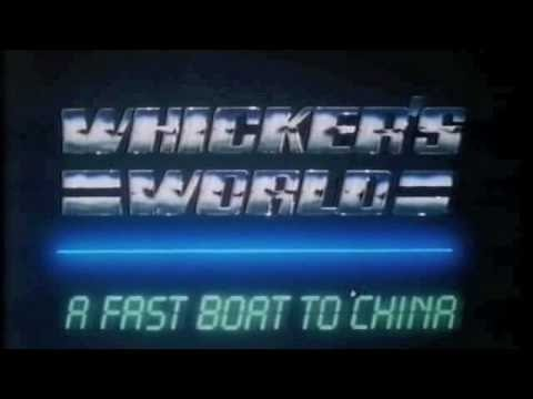 Whicker's World. QE2 A fast boat to China Part 1. Tahiti to Wellington.