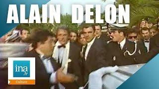 Alain Delon, arrivée mouvementée à Cannes   Archive INA
