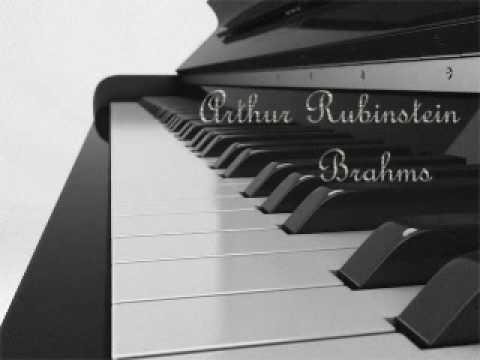 Arthur Rubinstein - Brahms Quintet in F minor, Op. 34 (1)