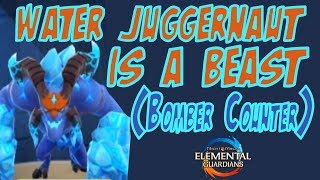 Water Juggernaut Is A Beast (Bomber Counter) - Might and Magic Elemental Guardians
