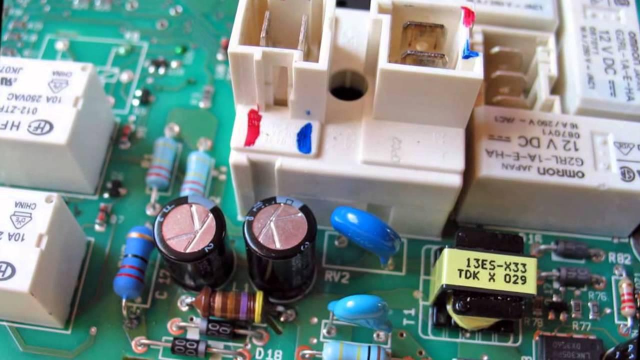 reparation carte electronique electromenager Electroménager   La bonne opération c'est la réparation   YouTube