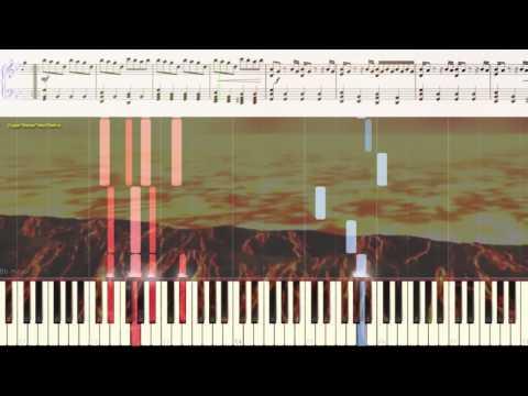 Requem For A Dream -  Cl.Mansell (Реквием по мечте) (Ноты и Видеоурок для фортепиано) (piano Cover)