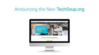 Meet the New TechSoup Website