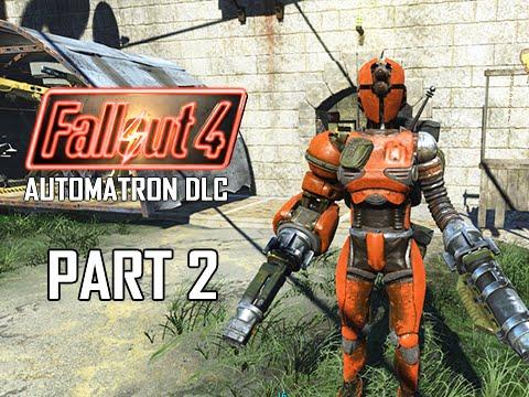Fallout 4 Automatron DLC Walkthrough Part 2 - Mechanist Lair (PC Ultra Let's Play)