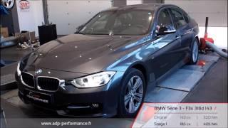 Reprogrammation moteur BMW Série 3 - F3x 318d 143 @ 185 PS - ADP Performance