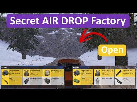 PUBG Mobile   Secret AIR DROP Factory Location in Vikendi