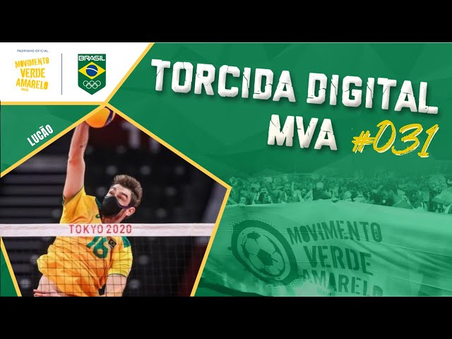 Torcida Digital MVA #031 - Tóquio 2020 - Vôlei Masculino: Brasil x Rússia, semifinais