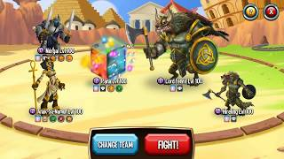 how To Beat Level 270 In Monster Legends? No Gems and No High Level Runes