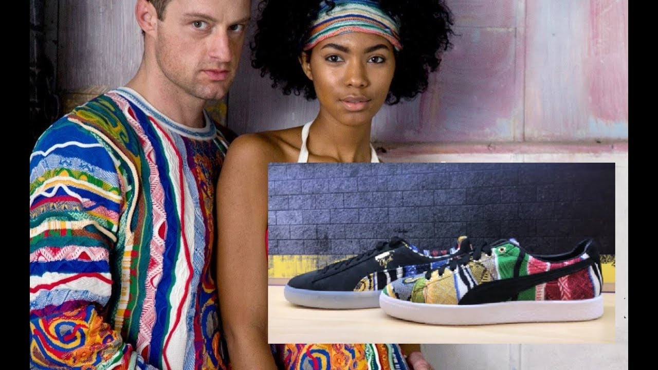 outlet store sale 00568 4d5c9 Coogi Puma Clyde Sweater Sneaker Collab Shoe Honest Sneaker Review  #PumaxCoogi @Puma