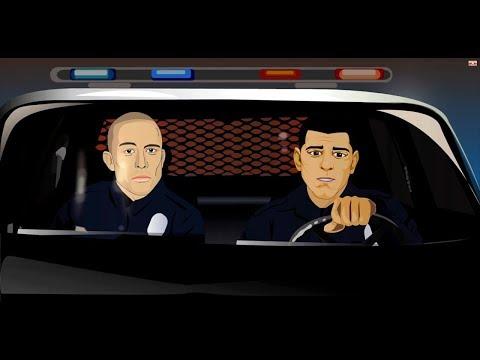 მასტერი - მე და 2 პოლიციელი/Masteri - Me Da 2 Policieli (Lyrics)
