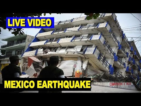 LIVE VIDEO: Mexico Earthquake Topples Buildings