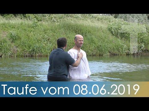 Taufe Vom 08062019 Deutschland Braucht Jesus Youtube