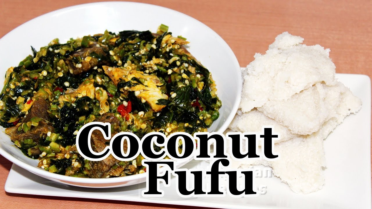 Coconut fufu all nigerian recipes youtube forumfinder Choice Image