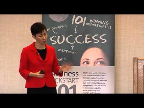 Business Kickstart 101 Dean's Speaker Series: Geri Prior, CFO - ICBC