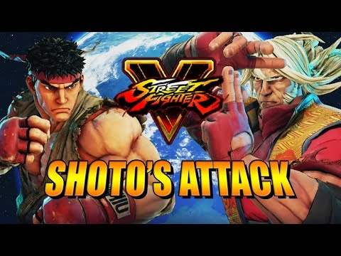 SHOTO ATTACK! Zeku - Street Fighter 5 Ranked Matches