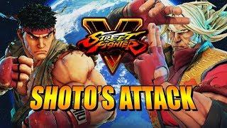 SHOTO ATTACK! Zeku - Street Fighter 5 Ranked Matches