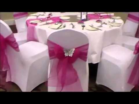 Wedding Chair Covers For Sale Youtube