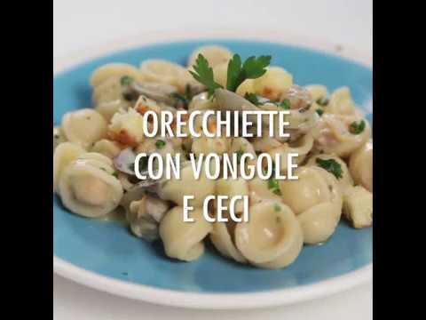 Ricetta Orecchiette Vongole E Ceci.Orecchiette Con Vongole E Ceci Quomi Academia Barilla Youtube
