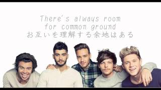 One Direction - You&I 歌詞&和訳