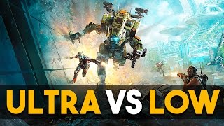 Titanfall 2 ULTRA vs LOW PC Gameplay