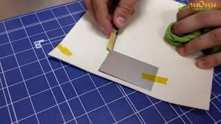 видео Изготовление металлических бейджей