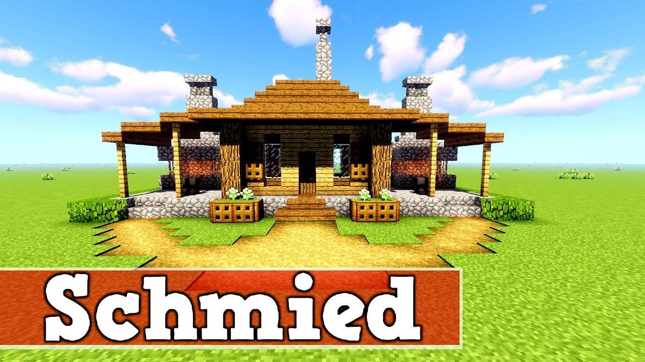 Wie Baut Man Eine Schmiede In Minecraft Minecraft Schmiede Bauen