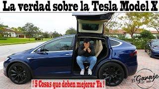 La verdad sobre la Tesla Model X
