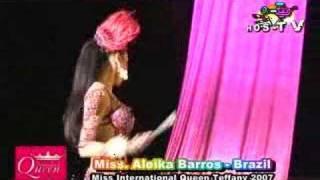 ニューハーフ Miss International Queen 2007 *Aleika Barros Brazil