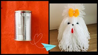Easy to make Yarn SHIH TZU  /woolen dog/DIY SHIH TZU DOG