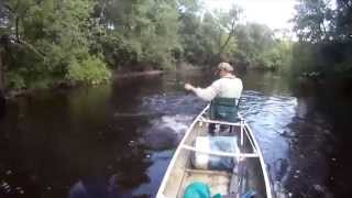 Canoe Fly Fishing Small Rivers - Tips for Success!